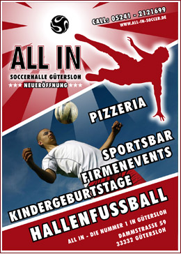 ALL IN SOCCERHALLE Gütersloh